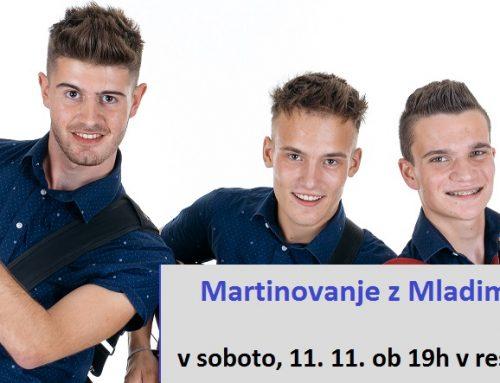 Martinovanje z Mladimi Belokranjci v soboto, 11. 11.