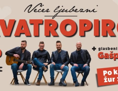 Kvatropirci – Valentinov koncert pri Dolenj'cu