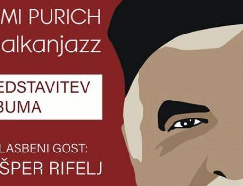 Tomi Purich TRIO #balkanjazz pri Dolenj'cu