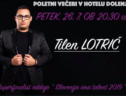 Tilen Lotrič akustični glasbeni večer