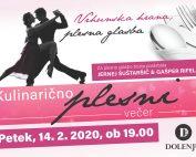 Plesno kulinarični večer v hotelu Dolenj'c